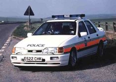 British Police Cars, Old Police Cars, Emergency Vehicles, Police Vehicles, Police Car Pictures, Mid Size Car, Ford Sierra, Police Uniforms, Cars Uk