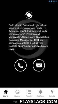 CV Giovannelli  Android App - playslack.com , Carlo Vittorio Giovannelli è lieto di presentarvi la sua nuova applicazione mobile, attraverso la quale potrete completare la vostra visita, oltre a mantenervi sempre aggiornati su tutte le iniziative e promozioni proposte dalla nostra attività.L'applicazione vi darà la possibilità di beneficiare di alcune features specifiche del mondo mobile quali:- Shortcut di chiamata per chiamare direttamente- Mappa interattiva interfacciata con il…