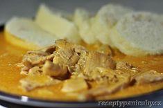 Kuře na paprice jako od maminky a možná ještě lepší Apple Pie, Stew, Mashed Potatoes, Ethnic Recipes, Desserts, Food, Red Peppers, Whipped Potatoes, Tailgate Desserts
