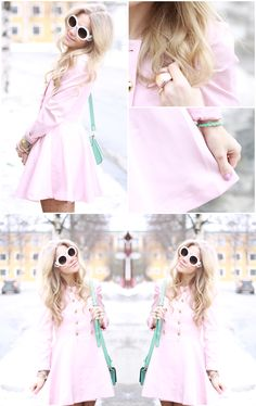 pink and mint!