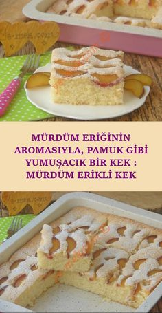 Mürdüm eriği ile yapabileceğiniz hafif, pratik ve lezzetli bir meyveli kek t… A light, practical and delicious fruit cake recipe that you can make with plum plum … Dessert Simple, Sweet Desserts, Easy Desserts, Cookie Recipes, Dessert Recipes, Yummy Recipes, Cotton Cake, Light Snacks, Plum Cake