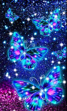 Purple Butterfly Wallpaper, Dark Red Wallpaper, Fairy Wallpaper, Flower Background Wallpaper, Painting Wallpaper, Cute Wallpaper Backgrounds, Pretty Wallpapers, Galaxy Wallpaper Iphone, Animal Print Wallpaper