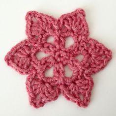 Star Crochet Motif   Deux Brins