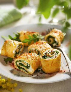 25 cenas saludables fáciles de hacer ¡y deliciosas! ROLLITOS DE TORTILLA