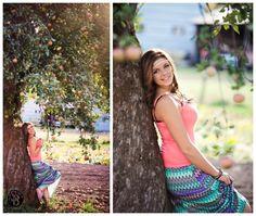 Senior Pictures in an Apple Orchard. Back light Sunshine. Fashion Chic Senior Portraits Portraits by Idaho & Montana Senior Photographer Shilo Bradley Photography www.shilobradley.com