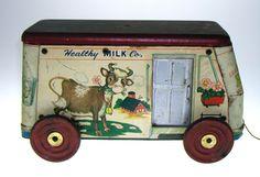 Milk Truck ~ c. 1954
