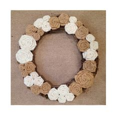 Grapevine Wreath  18  White & Natural by TheWalnutStreetHouse, $42.00