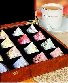 pyramids from Silkenty Tea.