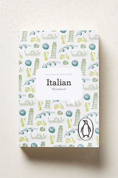 Italian Phrasebook #Anthropologie #AnthroFave