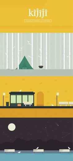 Kijiji Mobile by Michael Mason, via Behance