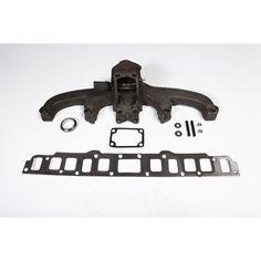 Exhaust Manifold Kit, 3.8L/4.2L; 72-80 Jeep CJ/SJ
