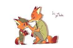 Zootopia... This is the sweetest thing...I love nick...