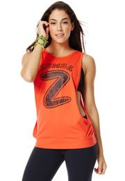 Hangin' Loose Bubble Tank | Zumba Wear Save 10% on Zumba® wear on zumba.com. Click to shop with 10% discount http://www.zumba.com/en-US/store/US/affiliate?affil=10sale