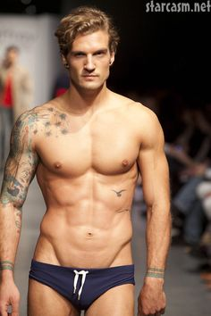 adbd06b1fa Parker Hurley - jeffery Fashion Cares 2011 Inked Men, Men's Underwear,  Parker Hurley,