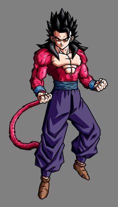 Gohan SSJ4 (Adult GT) by hsvhrt on DeviantArt