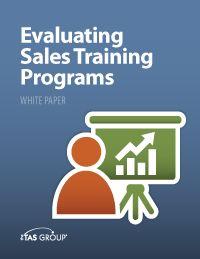 Sales White Paper: Evaluating Sales Training Programs.