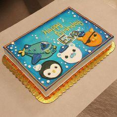 #mulpix An octonauts cake for eva. They are so cute! #cake #buttercream #icing #food #sweets #cakes #dessert #yum #cakestagram #foodstagram #foodporn #foodie #foodies #bake #bakery #eat #nom #delish #octonauts #captainbarnacles #kwazii #peso #gup-a #theoctonauts #ocean #polarbear #cat #penguin