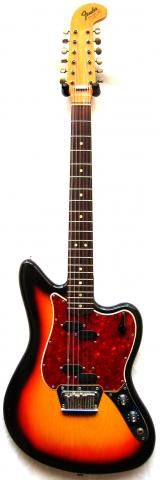 """The Fender Electric XII was designed to be a 12-string electric guitar. It features split P-Bass style pickups, four-way switching, and individual bridge saddles for each of its strings. It is neither particularly rare nor is it common. It had a five-year run from 1965 to 1970. It has its own distinctive sound. It was featured most prominently on The Who's Tommy and Led Zeppelin's """"Stairway to Heaven,"""" as well as records by The Velvet Underground, Cream, Caravan, and Tom Petty."""