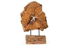Wood Sculpture I on OneKingsLane.com