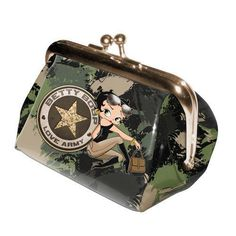 "Monedero Betty Boop Modelo ""Love Army"""