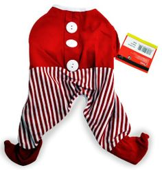 Dogit Christmas Santa PJs - Medium - http://www.thepuppy.org/dogit-christmas-santa-pjs-medium/