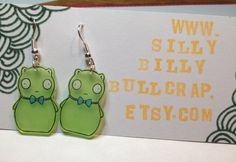 Kuchi Kopi dangle earrings Bob's Burgers by SillyBillyBullcrap Bobs Burgers Christmas, Faux Gauges, Cassie, Dangle Earrings, Dangles, Gifts, Clothes, Accessories, Outfits