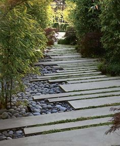 Garden Design Plans, Japanese Garden Design, Yard Design, Japanese Gardens, Garden Yard Ideas, Garden Paths, Easy Garden, Modern Landscaping, Backyard Landscaping