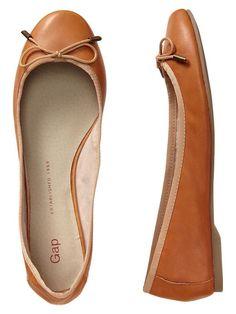 Gap | Leather ballet flats