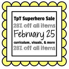Take advantage of the first TpT SALE of the YEAR!!!  28% off everything!!! by theautismhelper.com
