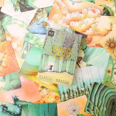 54 pcs/set mini Fantasy Forest card greeting card rabbit lomo memo card kids gift postcard kawaii stationery #>=#>=#>=#>=#> Click on the pin to check out discount price, color, size, shipping, etc. Save and like it!