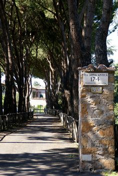 Rome, Via Appia (The Appian Way)