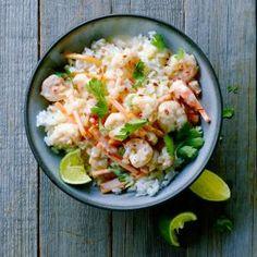 Coconut Milk Shrimp   | MyRecipes.com