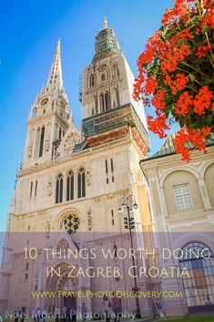 10 things worth doing in Zagreb l What to see and do in Zagreb, Croatia l Popular Zagreb attractions, monuments, squares and markets l fun & unique places in Zagreb l What to do in the Capital city of Zagreb l Top things to see in Zagreb Europe Travel Tips, European Travel, Places To Travel, Places To Go, Travel Trip, Summer Travel, Travel Advice, Travel Guides, Assumption Of Mary