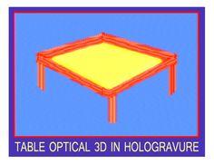 3D Hologravure technology