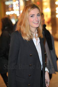 Julie Gayet, Paris, décembre 2015. http://shooting-photo.bain-de-lumiere.com/portraits-de-personnalite