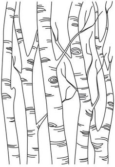Stitch this pretty birch scene once, or repeat in a line to create a full forest. Stitch this pretty birch scene once, or repeat in a line to create a full forest…- Wood Burning Stencils, Wood Burning Crafts, Wood Burning Patterns, Wood Burning Art, Wood Crafts, Tree Crafts, Stencil Wood, Wood Burning Projects, Stencil Pillow