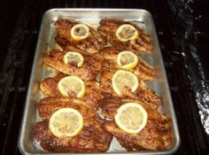 Cajun Grilled Talapia-this was awesome and worth the little bit of effort!