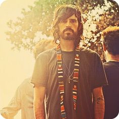 devendra festival style men t shirt tumblr style streetstyle tatted tattoo beard hair