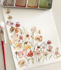 No photo description available. No photo description available. The post No photo description available. appeared first on Diy Flowers. acuarela flores No photo description available. Art Inspo, Kunst Inspo, Painting Inspiration, Watercolor Cards, Watercolor Flowers, Watercolor Paintings, Watercolour Illustration, Watercolor Journal, Watercolor Techniques