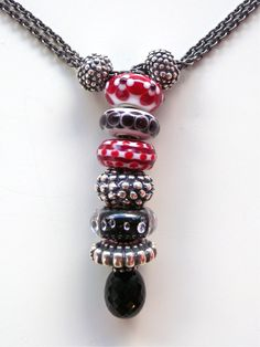 How do you wear your Trollbeads? (Yes... we know it's with enthusiasm - we meant more specifically...) Today at the shop a regular Trollie stopped by and was surprised to see how I was wearing one ...