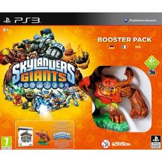 SKYLANDERS GIANTS BOOSTER PACK. #aventura #Comprar #juegos #PS3 . Skylanders Giants Booster Pack para Sony PS3, contiene lo que necesitas para empezar a disfrutar de Skylander Giants, si ya dispones del primer juego, Spyros Adventure.