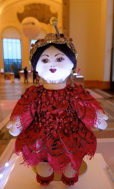 TOP FASHION DESIGNERS CREATE DOLLS FOR UNICEF Doll created by Dolce & Gabbana.