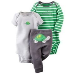 Baby Boy Carter's Animal Bodysuit & Pants Set