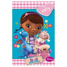 DOC MCSTUFFINS THEME PARTY INVITES INVITATIONS SUPPLIES DECORATIONS PACK OF 6