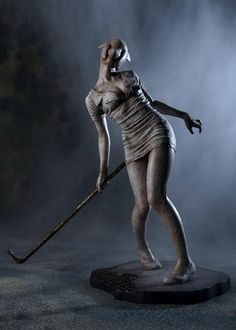 Figure/Doll,Mamegyorai Limited Edition Silent Hill 2 Bubble Head Nurse PVC Statue,Collectible listed at CDJapan! Get it delivered safely by SAL, EMS, FedEx and save with CDJapan Rewards! Arte Horror, Horror Art, Scary Movies, Horror Movies, Arte Cyberpunk, Kobold, Creepy Art, Resident Evil, 3d Character
