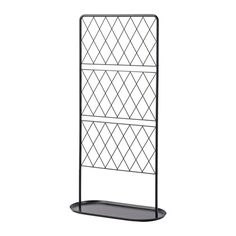 IKEA - BARSÖ, 격자울타리+받침판, 받침플레이트가 있어서 넝쿨식물이 더욱 안정적으로 자랄 수 있습니다.격자울타리를 식물로 감싸고 아늑한 나만의 공간을 만들어보세요.