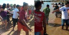 Seis adolescentes morrem afogados no Rio São Francisco. | Lucas Souza Publicidade