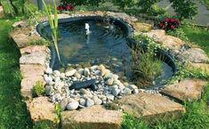 Water Features In The Garden, Oahu, Garden Bridge, Garden Inspiration, Garden Design, Aquarium, Pergola, Outdoor Structures, Nice