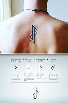 Runes minimalist tattoo design Runes minimalist tattoo design,Tattoo Runes minimalist tattoo design Related posts:But with sunflowers - Flower Tattoo Designs - diy best tattoo ideas, . - Small Tattoo Designs For. Simbols Tattoo, Norse Tattoo, Viking Tattoos, Viking Rune Tattoo, Glyph Tattoo, Greek Symbol Tattoo, Tattoo Chart, Tattoo Symbols, Tattoo Quotes