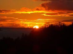 Sunset in Kauai, HI